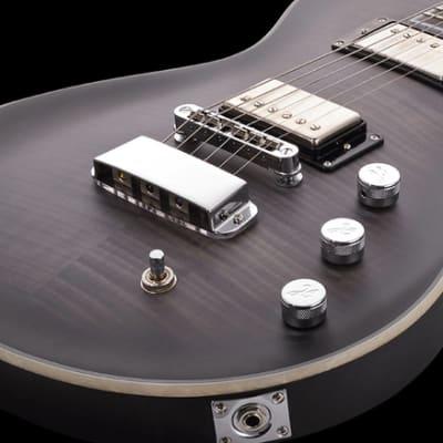 Hagstrom ULMAX-CBB | Ultramax Electric Guitar, Satin Cosmic Black BurFinish. New with Full Warranty!