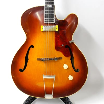 1953 Epiphone Zephyr Regent Hollow Body Electric Guitar - Sunburst for sale