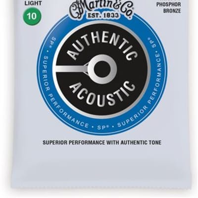 Martin MA530 Authentic Acoustic SP Phosphor Bronze Acoustic Strings