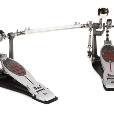 Pearl Eliminator Redline Chain Drive Double Bass Drum Pedal P2052C