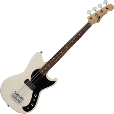G&L Tribute Fallout Bass 2020 Olympic White