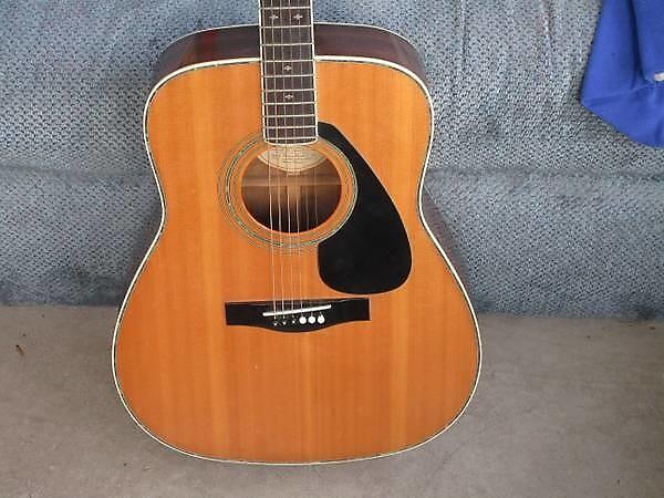 yamaha fg 460 sa vintage acoustic guitar solid top fg460 reverb. Black Bedroom Furniture Sets. Home Design Ideas
