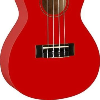 Oscar Schmidt OU1CRD Concert Size Ukulele in a Red Finish