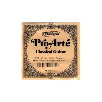 D´Addario ProArte J4604 D Classical Single Guitar String