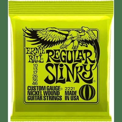 Ernie Ball Regular Slinky Strings 10-46
