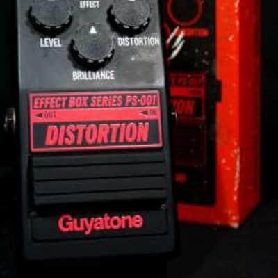 Guyatone PS-001 Distortion s/n 8013351 Japan w/ TL5448P op amp.