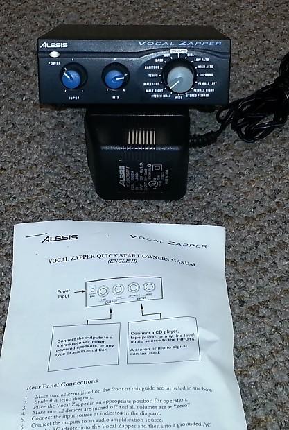 Alesis Vocal Zapper Digital Vocal Reduction Unit