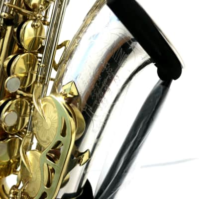 King Silver Sonic Alto Sax Clear Lacquered Brass