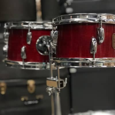 """Gretsch 8/10"""" Rosewood Toms - 70's Square Badge"""