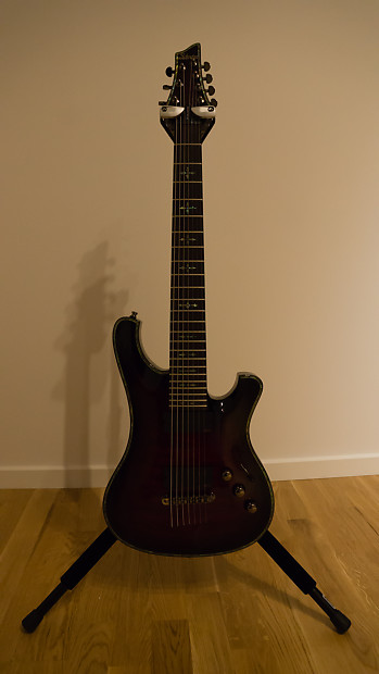 Schecter hellraiser 007 special edition 7-string electric guitar.