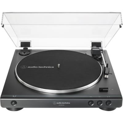 Audio Technica AT-LP60XUSB Fully Automatic Belt-Drive Stereo Turntable (Analog & USB) - Black
