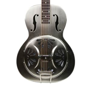 Gretsch G9221 Bobtail Steel Round-Neck Acoustic Electric Resonator Demo for sale