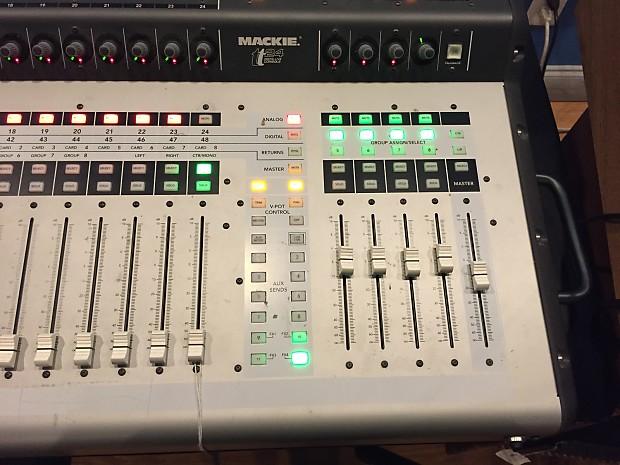mackie tt24 24 channel digital live mixing console mixer reverb. Black Bedroom Furniture Sets. Home Design Ideas