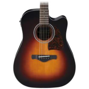 Ibanez AW400CEBS Artwood Series Acoustic-Electric Guitar Sunburst