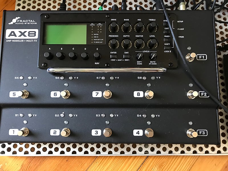 Fractal Audio AX8 | On the Edge of Forever
