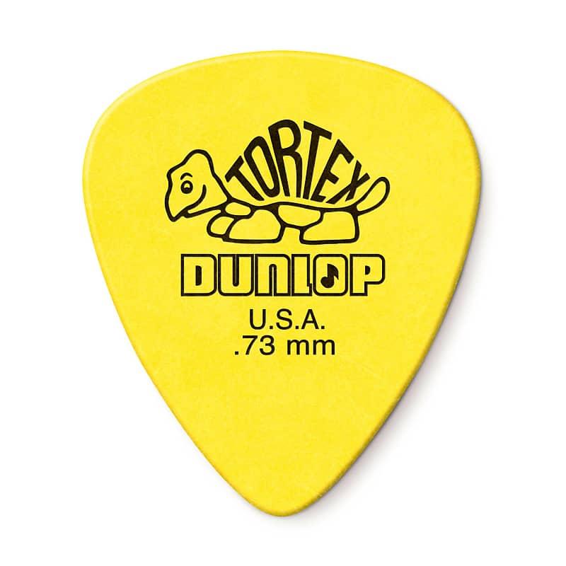 Dunlop 418P073 Tortex Standard Guitar Pick .73mm (12-Pack)
