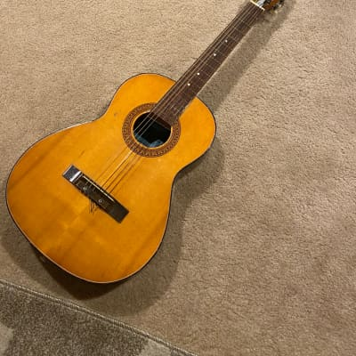 END OF THE YEAR BLOWOUT// SUPER RARE VINTAGE MIJ Hy-Lo/Cameo/Teisco 437 Classical Guitar for sale