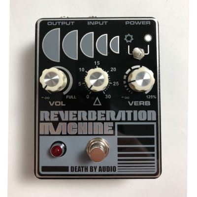 Death By Audio Reverberation Machine Reverb Used