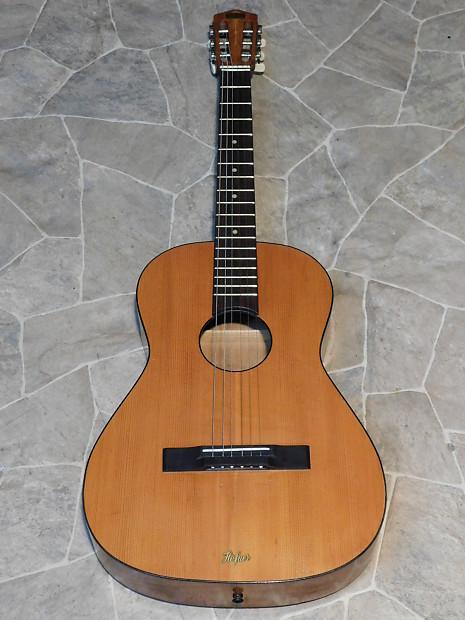 Uitgelezene vintage HOFNER Höfner 512 acoustic parlor blues GUITAR   Reverb WU-26